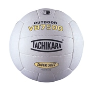 "Tachikara® Beach Volleyball, 25.6 - 26.4"", White"