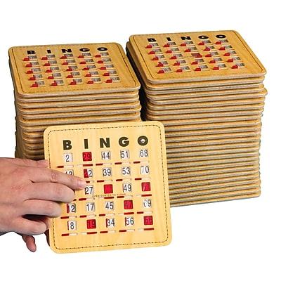 S&S® Quick Clear Bingo Slide Card