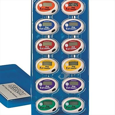 Spectrum™ Step Pedometers Set, 12/Pack