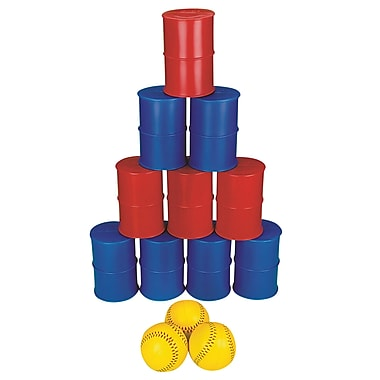 S&S® Knock Down Can, 10/Set