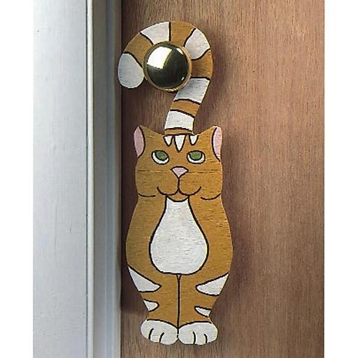 S&S® Unfinished Doorknob Hangers, 24/Pack