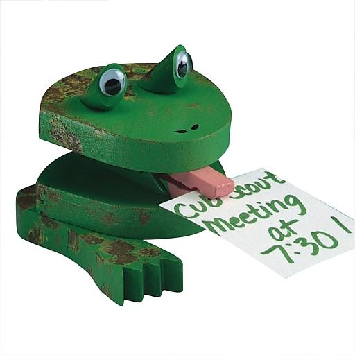 S&S® Unfinished Frog Note Holder, 12/Pack