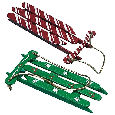 Geeperz™ Christmas Sleds Craft Kit, 100/Pack