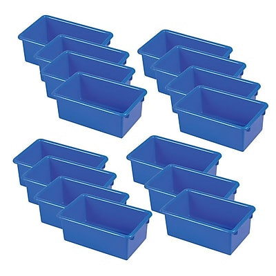 ECR4Kids Stack & Store Tub without Lid - Blue 6-Pack
