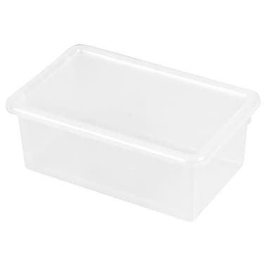 ECR4Kids Stack & Store Tub with Lid - Clear 6-Pack