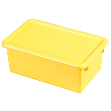 Stack & Store Tub with Lid - Yellow