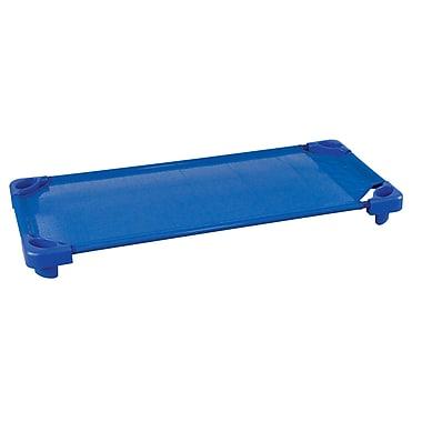 ECR4Kids® Assembled Single Standard Kiddie Cot, Blue