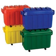 ECR4Kids® Stackable Storage Trunk, Assorted, 4 Pieces/Set