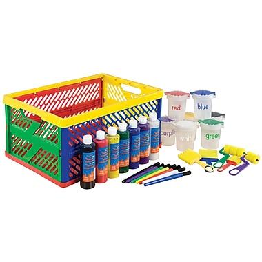 ECR4Kids® 8 oz. 27 Piece Learn Your Colors Paint Crate