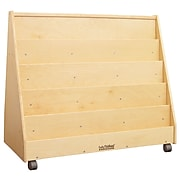 ECR4®Kids Double-Sided Book Display, Natural