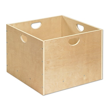 ECR4Kids® 4 Sided Wooden Block Tub