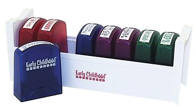 ECR4Kids® 8 Piece #2 Teacher Stamp With Tray