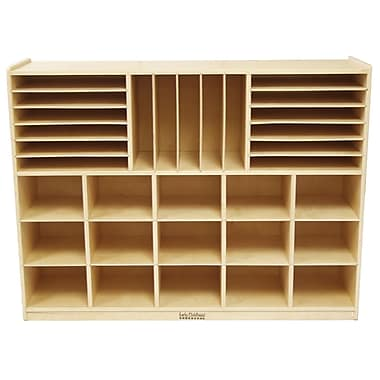 ECR4Kids® Multi-Section Storage Cabinet, Natural