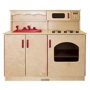 ECR4Kids® 4-in-1 Play Kitchen, Natural