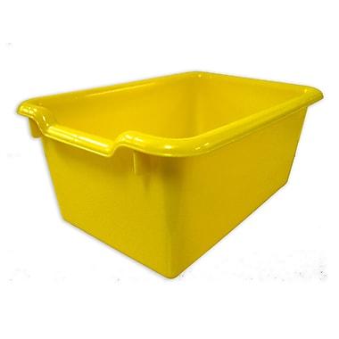 ECR4Kids® Scoop Front Storage Bin, Yellow