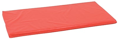ECR4Kids® Rainbow Rest Mat, Red