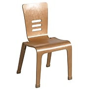 "ECR4®Kids 18""(H) Bentwood Chair, Natural, 2/Pack"