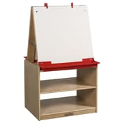 ECR4Kids® 2 Station Art Easel With Storage