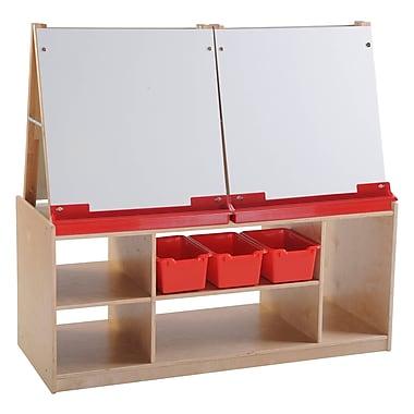 ECR4Kids® 4 Station Art Easel With Storage
