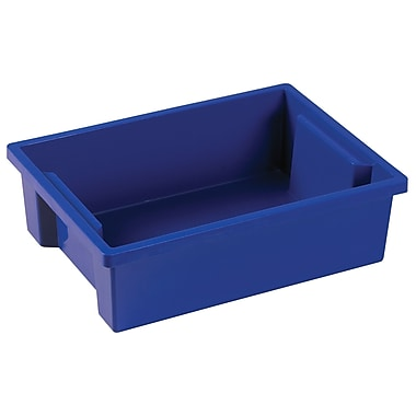 Small Storage Bin without Lid - Blue