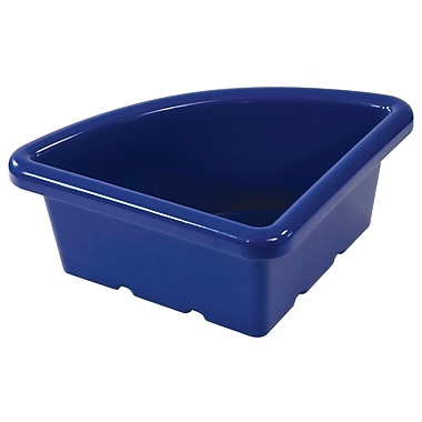 Quarter Circle Tray without Lid - Blue
