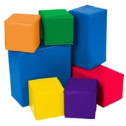 ECR4Kids® Softzone® Big Blocks Set, 7 Pieces/Set, 7 Pieces/Set