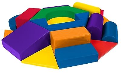 ECR4Kids® Softzone® Wheel Climber Play Set, 19 Pieces/Set