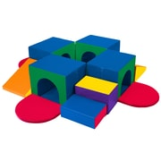 ECR4Kids® Softzone® Tunnel Maze, 19 Pieces/Set