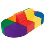 ECR4Kids® Softzone® Sectional Climber Play Set, 8 Pieces/Set