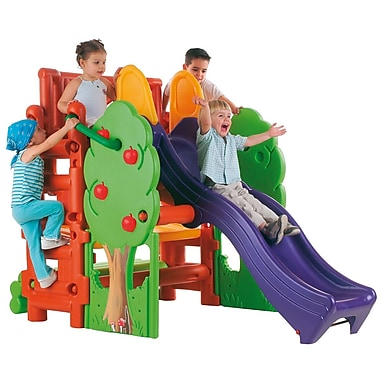 ECR4Kids® Tree Top Climb and Slide Play Set