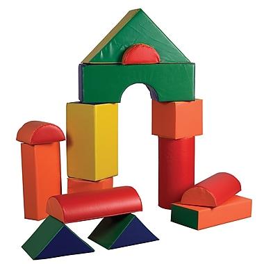 ECR4Kids® Softzone® Jumbo Soft Blocks Set, 14 Pieces/Set