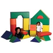 ECR4Kids® Softzone® Jumbo Soft Blocks Set, 21 Pieces/Set