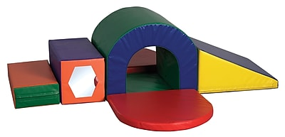 ECR4Kids SoftZone Slide and Crawl Climber Play