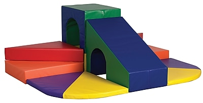 ECR4Kids® Softzone® Peaks and Passages Climber Play Set