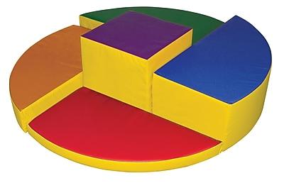 ECR4Kids® Softzone® Rainbow Climber Play Set