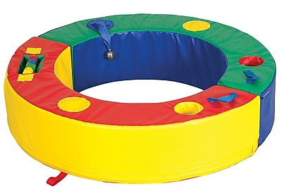 ECR4Kids Softzone Discovery Circle Play Set 38997