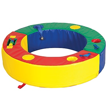 ECR4Kids® Softzone® Discovery Circle Play Set