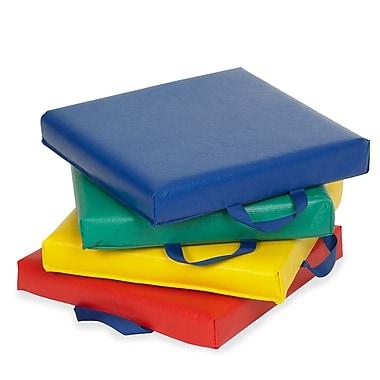 ECR4Kids® Softzone® Square Carry Me Cushion, 4 Pieces/Set