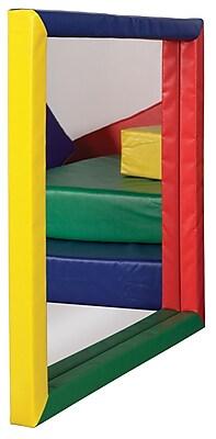 ECR4Kids® Softzone® Padded Mirror, Flat