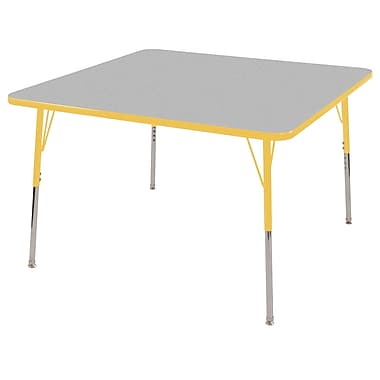 ECR4®Kids 30in. x 60in. Rectangular Activity T-Mold Tables With Toddler Legs & Swivel Glide