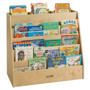 ECR4Kids® Birch Display and Store Mobile Book Cart