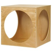 ECR4Kids® Playhouse Cube Frame, Natural