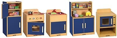 ECR4Kids® Colorful Essentials Play Kitchen Set, Blue, 5 Piece