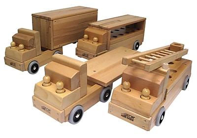 ECR4Kids® Transportation Vehicles, 4 Trucks/Set
