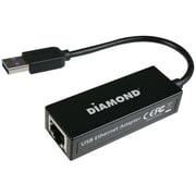Diamond Multimedia Gear UE3000 USB 3.0 to Gigabyte Ethernet LAN Network Adapter, 10/100/1000 Mbps