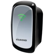 Diamond WR300NSI 3-in-1 Wireless Repeater Range Extender With Signal Indicator, 300 Mbps