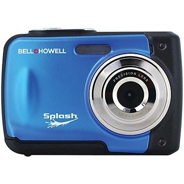 Bell & Howell WP10 Splash 12 MP Waterproof Digital Camera, Blue