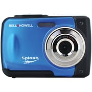 Bell & Howell WP10 Splash 12 MP Waterproof Digital Camera, Blue