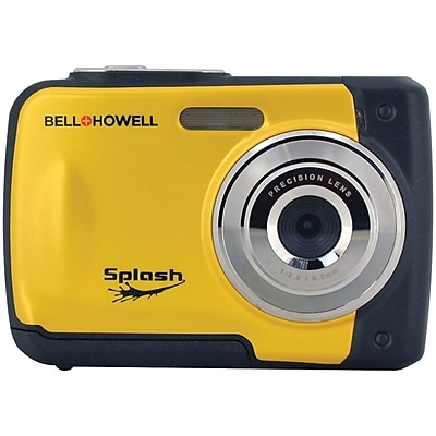 Bell & Howell WP10 Splash 12 MP Waterproof Digital Camera, Yellow