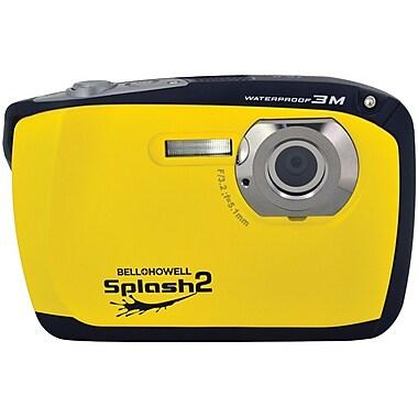 Bell & Howell WP16 Splash2 16 MP Waterproof Digital Camera, Yellow